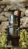 06447 - Making tea... / Kursunlu lake - Antalya - Turkey
