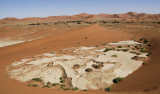 11694 - Dead Vlei between the dunes / Sossussvlei - Namibia