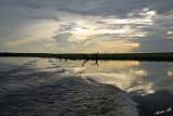 12698 - Sunset on the river / Chobe river - Botswana