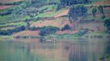 14222 - Sailing alone | Lake Bunyoni - Uganda