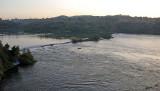 14456 - Alone against the current | Nile river / Jinja - Uganda