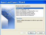 Outlook Export,  Kontact Import of .ldif from Thunderbird