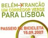Belém-Trancão - Passeio de Bicicleta (14/09/2007)