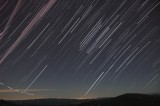 Star trails from 0400 - 0500