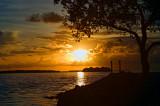 Sunset over Ramrod Key
