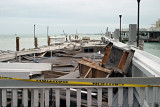 Sunset Pier after Wilma