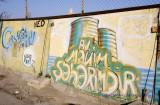 Grafitti in Central Baku