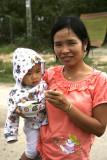 Maman et sa fillette- Hoi An - Vietnam