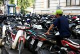 Parking de motos à Ho Chi Minh Ville - Vietnam