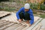 Tresseuse de bambou - Mai Chau - Vietnam