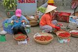Marchandes de fraises - Dalat - Vietnam