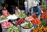 Marchands de fruits - HCMV - Vietnam