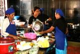 Cuisinières à Siem Reap - Cambodge