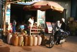 Station service à Sihanouk-Ville - Cambodge