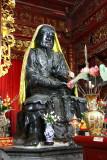 A l'intérieur du temple Chua Tran Qouc