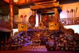 Trône du temple des rois Nguyen