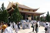 Le temple de Tröc Lâm, le jour de l'Illumination de Bouddha