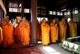 A l'intérieur du temple de Tröc Lâm