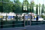 Reflets sur le bâtiment de la Communauté Européenne