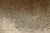 Fresque à Angkor Vat