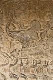 La charge des éléphants-Angkor Vat