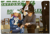 DP Podium: Winner Scott pruett and Richard Petty