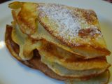 Coconut Crepes with Banana