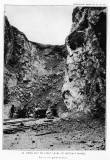 Open cut on first level of Metcalf Mines