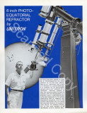 Unitron 6 inch Photo-Equatorial Refractor