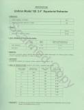 Unitron Model 128 Instruction Manual