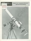 Unitron Model #142 Manual