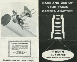 Tasco telescope camera bracket