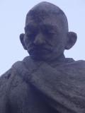 Um close do Mahatma