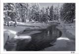 Winter Firehole River