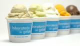 various gelato/sorbet flavors