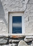 the window and its mountain