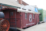 NP Wooden Caboose Toppenish WA