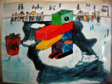 cube - penguin, Johnethon, age:11