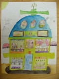 house design, Katie, age:7