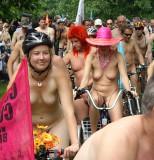 London  - world naked bike ride