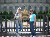 Gentilia & Jean at Royal Garden gate