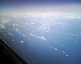 Pacific Ocean from FL360