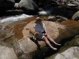 A hike to Bassi falls, 6/24/07