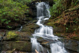 waterfall on Camp Branch