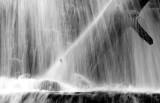 close up at Sid's Falls