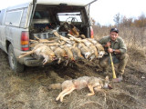 Thanks to Mark my new coyote trapper friend