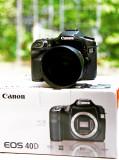 Canon EOS 40D + 50mm f1.4