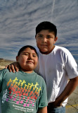 Native american brothers