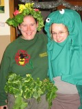 Amy & Claire as the Octopus's garden