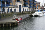 The day started with moving the boat from Limehouse ..